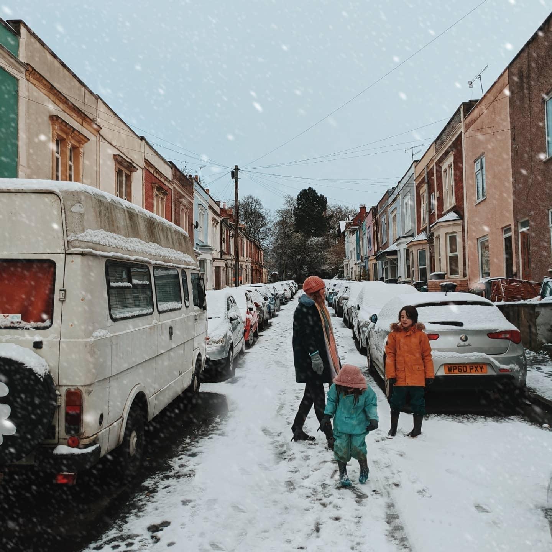 Snow Day Hurray bristol gets snow Tigerlilly Quinn